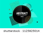 holiday golden shine abstract... | Shutterstock .eps vector #1125825014