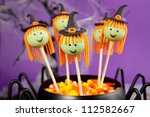 witch cake pops | Shutterstock . vector #112582667
