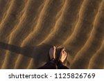 gran canaria  maspalomas dunes  ...   Shutterstock . vector #1125826769