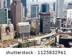 osaka  japan   april 30  2018 ... | Shutterstock . vector #1125832961
