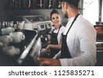 cafe business  professional... | Shutterstock . vector #1125835271