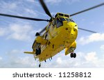 Sea King Rescue Helicopter In...