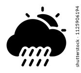 daytime rainy weather | Shutterstock .eps vector #1125906194