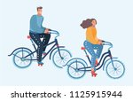vector cartoon illustration of... | Shutterstock .eps vector #1125915944