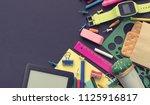 banner concept back to school... | Shutterstock . vector #1125916817