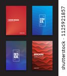 set of vector different style... | Shutterstock .eps vector #1125921857