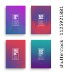set of vector different style... | Shutterstock .eps vector #1125921881