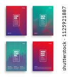 set of vector different style... | Shutterstock .eps vector #1125921887