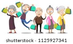 vector cartoon illustration of... | Shutterstock .eps vector #1125927341