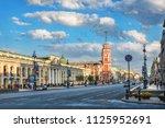 st. petersburg russia   06 03... | Shutterstock . vector #1125952691