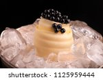black caviar with margarine | Shutterstock . vector #1125959444