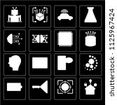 set of 16 icons such as smart...
