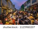 phuket town   phuket   thailand ... | Shutterstock . vector #1125983207