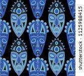 seamless background. indian... | Shutterstock .eps vector #1125988415