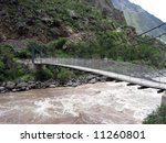 inca trail leading through the... | Shutterstock . vector #11260801