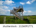 outlook overlook tower stairs... | Shutterstock . vector #1126091771