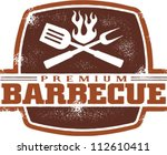 vintage premium barbecue bbq... | Shutterstock .eps vector #112610411