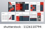 design layout template for... | Shutterstock .eps vector #1126110794