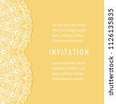 invitation or card templates... | Shutterstock .eps vector #1126135835