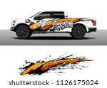 truck decal  cargo van and car... | Shutterstock .eps vector #1126175024