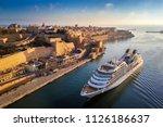 Valletta  Malta   Cruise Ship...