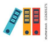 vector education book... | Shutterstock .eps vector #1126201271