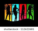 sexy model | Shutterstock .eps vector #112622681