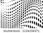wave halftone background....   Shutterstock .eps vector #1126236371