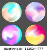 holpgraphic gradient sphere ... | Shutterstock .eps vector #1126244777