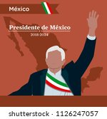 mexico elections 2018  ...   Shutterstock .eps vector #1126247057