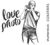 photographer   love photo ... | Shutterstock .eps vector #1126253051