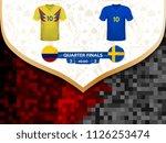match playoffs. game between...   Shutterstock .eps vector #1126253474