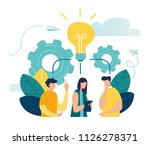 vector illustration  online... | Shutterstock .eps vector #1126278371