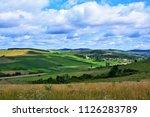 a beautiful rural landscape in...   Shutterstock . vector #1126283789