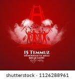 vector illustration. turkish... | Shutterstock .eps vector #1126288961