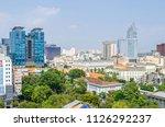 ho chi minh city  vietnam   4... | Shutterstock . vector #1126292237