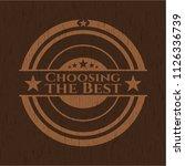 choosing the best vintage...   Shutterstock .eps vector #1126336739