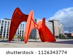 grand rapids  mi   usa  ... | Shutterstock . vector #1126343774
