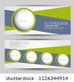 flyer banner or web header... | Shutterstock .eps vector #1126344914