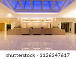 hotel reception area  desk | Shutterstock . vector #1126347617