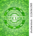noticeable green emblem. mosaic ... | Shutterstock .eps vector #1126361585