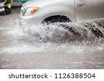 thailand july 2018 2  traffic...   Shutterstock . vector #1126388504