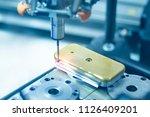 the multi axis cmm machine... | Shutterstock . vector #1126409201