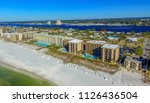 fort walton beach aerial view ... | Shutterstock . vector #1126436504