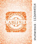 carefree abstract emblem ... | Shutterstock .eps vector #1126444514