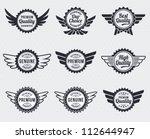 quality premium label badges  ...