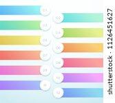 vector 3d circle banner 12... | Shutterstock .eps vector #1126451627