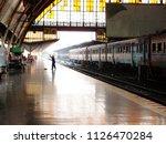 morning scenery of hua lamphong ... | Shutterstock . vector #1126470284