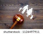 family law  family right... | Shutterstock . vector #1126497911