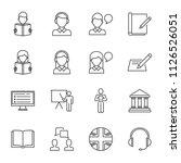 english language test  language ...   Shutterstock .eps vector #1126526051